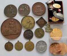 Medaillen Deutschland: Landwirtschaft / Ausstellungen: Lot 18 Medaillen / Abzeichen, überwiegend Anf - Zonder Classificatie