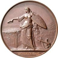 Medaillen Deutschland: Lot 10 Medaillen; Davon 9 Exemplare Vom Königlich Württembergischen Hofmedail - Zonder Classificatie