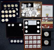 Medaillen Deutschland: Lot Medaillen Aus Diversen Abos, Dabei: 800 Jahre Dresden, 800 Jahre Stuttgar - Zonder Classificatie