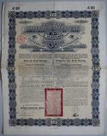 Alte Aktien / Wertpapiere: DEUTSCHLAND, Berlin. Lot 16 X 5 % Chinese Imperial Government Gold Loan O - Hist. Wertpapiere - Nonvaleurs