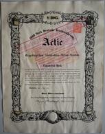 Alte Aktien / Wertpapiere: DEUTSCHLAND, Schedewitz (bei Zwickau). Erzgebirgischer Steinkohlen-Actien - Hist. Wertpapiere - Nonvaleurs