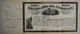 Alte Aktien / Wertpapiere: USA, Standard Oil Company. Cleveland, Ohio, 06.05.1875. 1913 Shares A USD - Hist. Wertpapiere - Nonvaleurs
