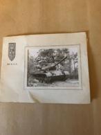 Carte De Voeux  -MILITARIA   - 501e Régiment De Chars De Combat - Documenti
