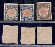 Regno - 1921 - Annessione Venezia Giulia (113/115) - Serie Completa - Gomma Integra (60) - Non Classificati