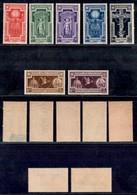 Regno - 1933 - Anno Santo (345/349 + 54/55 Aerea) - Emissione Completa - Gomma Integra (145) - Non Classificati