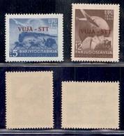 Trieste  - Trieste B - 1949 - 75 Anni UPU (17/18) - Serie Completa - Gomma Integra (40) - Non Classificati