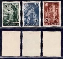 Trieste  - Trieste B - 1953 - Nazioni Unite (82/84) - Serie Completa - Gomma Integra (25) - Non Classificati