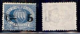 SAN MARINO - 1892 - 5 Su 10 Cent Stemma (8) - Usato (35) - Non Classificati
