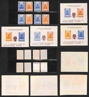 AFGHANISTAN - 1960 - Giornata Mondiale Del Rifugiato (488/486 + 513/514 A/B + Block 1/2+4/5) - Emissione Completa - Gomm - Non Classificati