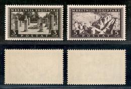 ALBANIA - 1939 - Vedute (310/311) - I Due Alti Valori - Gomma Integra (110) - Non Classificati
