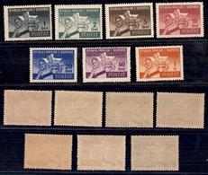 ALBANIA - 1946 - Giochi Balcani (408/414) - Serie Completa - Gomma Integra (120) - Non Classificati