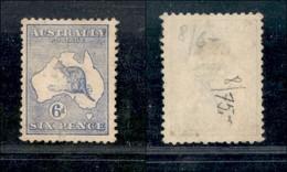 AUSTRALIA - 1913 - 6 Pence (8) - Senza Gomma - Non Classificati