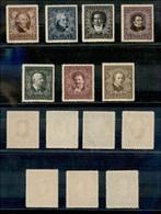 AUSTRIA - 1922 - Compositori Austriaci (418A/424A) Dentellati 12 1/2 - Gomma Originale E Integra (100) - Non Classificati