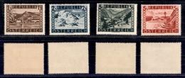 AUSTRIA - 1946 - Vedute (767/770 II) - 4 Alti Valori - Gomma Integra (70) - Non Classificati