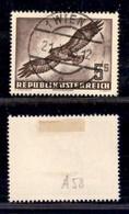 AUSTRIA - 1953 - 5 Shilling Uccelli Posta Aerea (986) - Usato (120) - Non Classificati