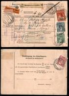 AUSTRIA - Bollettino Pacchi Da 10 Heller Con Complementari Assicurato Da Hustopetsch A St.Gallen Del 8.2.09 - Non Classificati