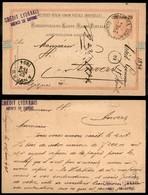AUSTRIA - Intero Postale 20 Para Su 5 Kreuzer Da Smyrna A Anversa Del 17.8.94 - Non Classificati