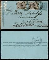 AUSTRIA - Territori Italiani D'Austria - Pieve Di Livinallongo - Intero Postale Da 3 Kreuzer Con Complementari (50+50) P - Non Classificati