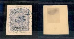AUSTRIA - Levante - Lloyd Austriaco XXX (in Azzurro) - 1 Piastra Su 10 Kreuzer (23 - Austria) - 7.10.99 - Non Classificati