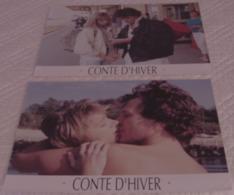 LOT 5 PHOTOS ORIGINALES EXPLOITATION FILM CONTE D'HIVER Eric ROHMER Charlotte VERY VAN DEN DRIESSCHE 1992 - Photos