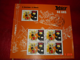 FRANCE   ANNEE 2019  OBLITERE CACHET ROND  BLOC FEUILLET 60 ANS D'ASTERIX - Used Stamps
