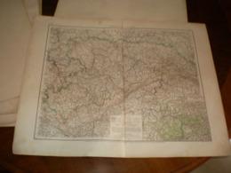 Konigreich Sachsen Volks Und Fanilien Atlas A Shobel Leipzig 1901 Big Map - Mapas Geográficas