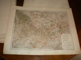 Thuringische Staaten Volks Und Familien Atlas A Shobel Leipzig 1901 Big Map - Cartes Géographiques