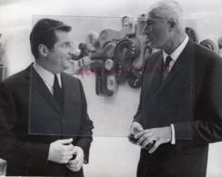 75- PARIS- S A I LE PRINCE NAPOLEON ET M.  GERARD SOUHAMI - Berühmtheiten