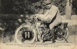 Sport - Motos - Circuit De L'Eure - Milland Sur Motosacoche Et Pneu Hutchinson - C 9218 - Moto