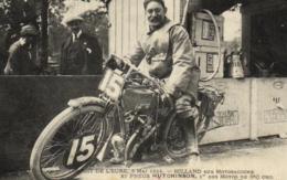 Sport - Motos - Circuit De L'Eure - Milland Sur Motosacoche Et Pneu Hutchinson - C 9219 - Motorbikes