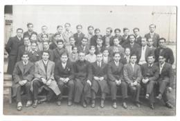 CPA. CARTE PHOTO... LA GRAND' COMBE...JEUNESSE CATHOLIQUE... 1933..TBE SCAN.. - France