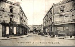 37 CHINON  RUE NEUVE DE L'HOTEL DE VILLE - Chinon