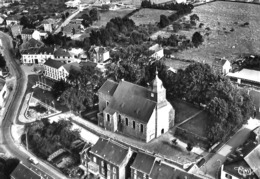 Nassogne - L'Eglise - Vue Aérienne (Combier) - Nassogne