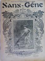 """Revue """"Sans-Gêne"""" 1902 Grivoise Femme Lady Glamour N° Spécial """"Sainte Catherine"""" Cocu Cuckold Erotique Humour  (4 Scans) - Livres, BD, Revues"""