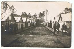 CAPTIEUX (Gironde) Camp Américain Du 20th Engineers En 1918, Troupes Américaines. Photographie BERARD à Bordeaux - Autres Communes