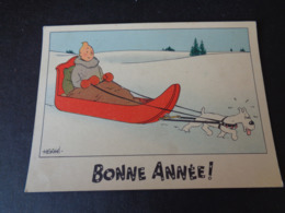 Illustrateur ( 1358 )  Hergé  Tintin  Kuifje  Bonne Année - Hergé