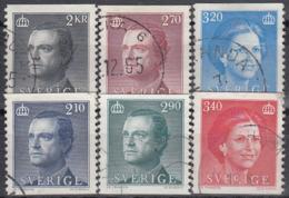 SUECIA 1985/86 Nº 1301/03 + 1351/53 USADO, SE MANDARA EL ARTICULO DE LA FOTOGRAFIA - Suecia