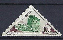Timbres - Monaco - Taxe - N° 55 - Neuf** - Postage Due