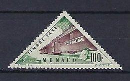 Timbres - Monaco - Taxe - N° 54 - Neuf** - Postage Due