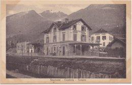 GORDOLA - TENERO - 1910-1920 - Stazione - Station Statie Gare Bahnhof - Tessin - TI Tessin