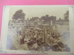 Photo Ancienne/Tirage Monté Sur Carton/Salon De 1896/Sur La Tamise/F GUELDRY/Tamise/LONDRES/1899   PHOTN512 - Sporten