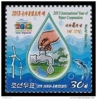 North Korea 2013 Mih. 6056 International Year Of Water Cooperation MNH ** - Corea Del Norte