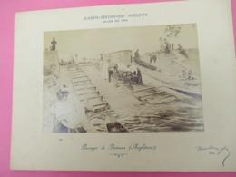 Photo Ancienne/Tirage Monté Sur Carton/Salon De 1896/Passage De Bateaux/F GUELDRY/Tamise/LONDRES/1899   PHOTN513 - Sport