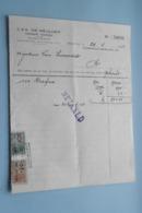 J. & A. DE MEULDER Openbare Fondsen BORGERHOUT > Anno 1952 & 1955 ( Zie Foto's ) 2 Stuks ! - Banque & Assurance