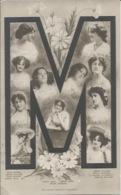 Postcard RA010725 - Singer Actress: Delia Mason, Gertie Millar, Edna May, Liliah McCarthy - Beroemde Vrouwen