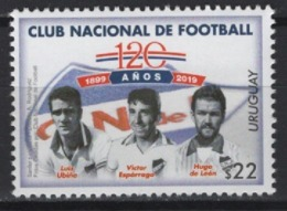 Uruguay (2019) - Set -  /  Soccer - Futbol - Calcio - Football - Nacional - Famous Clubs