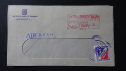 Dominican Republic - 1972 - Freistempel - 33 - 21.12.72 Santo Domingo - Look Scan - Dominicaine (République)