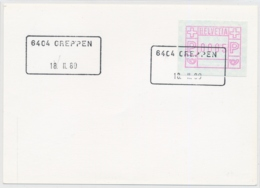 Aushilfsstempel 6404 GREPPEN - Poststempel