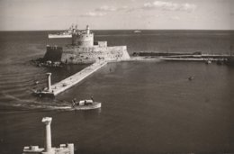 Greece | Rhodes - 195/6¨ - RPPC: Lighthouses | Saint Nicolas Lighthouse. * - Grecia