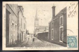 CHALONNES SUR LOIRE 49 - L'Eglise Saint Maurille Pendant L'inondation En 1904 - A116 - Chalonnes Sur Loire
